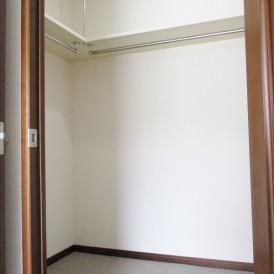 主寝室ウォークインクロゼット